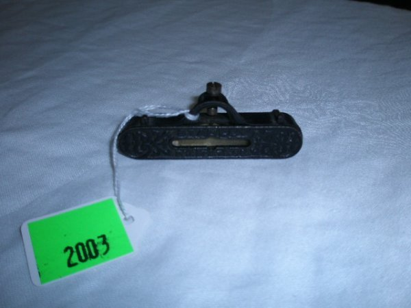2003: Stanley patent Feb 1890 fancy iron level attachme