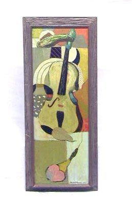 3084: Humbert Howard, 1953, signed and dated, oil on pa