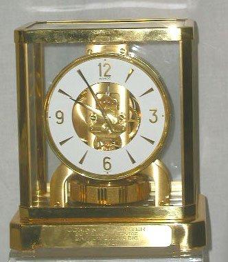 3102: Le Coultre Atmos clock