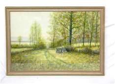 3115 Raphael Senseman signed watercolor and gouache