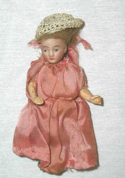 4003: Victorian bisque head doll