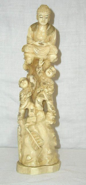 4021: Ivory figural group