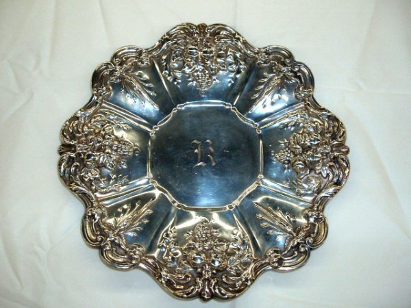"""5001: Reed & Barton """"FRANCIS I"""" sterling plate"""
