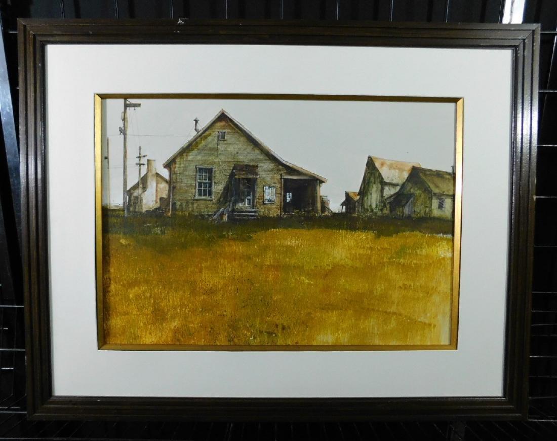 Dan Nicholl Watercolor
