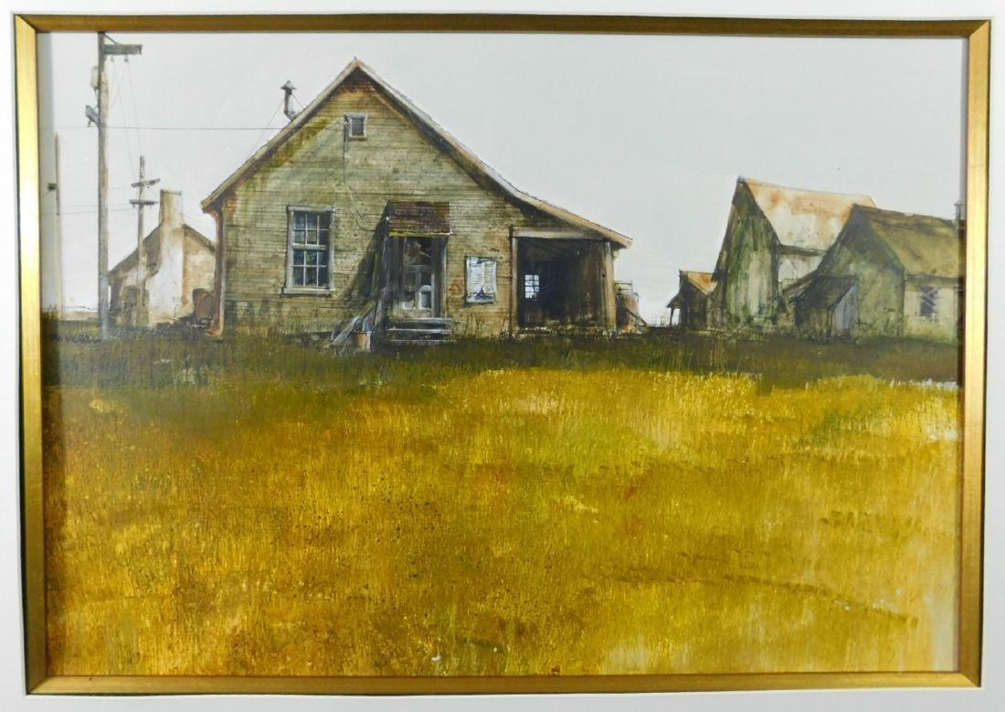 Dan Nicholl Watercolor - 2