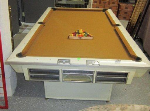 Vintage Mid Century Brunswick Pool Table May 05 2019 B S Slosberg Inc Auctioneers In Pa
