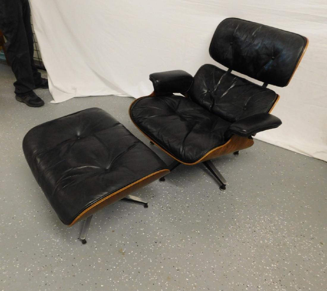 Herman Miller Eames 670-671 Lounge Chair & Ottoman - 2
