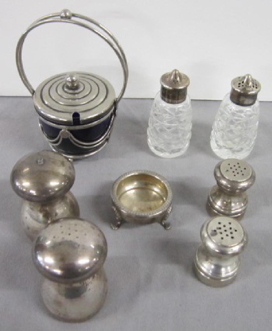 Sterling Silver S & P Shakers & Other