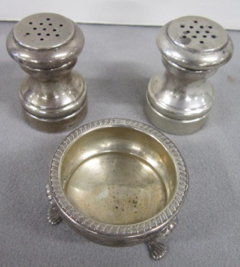 Sterling Silver S & P Shakers & Other - 3