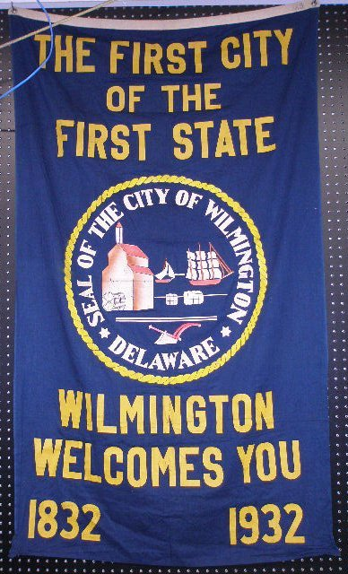1001: Wilmington Delaware Commemorative Flag