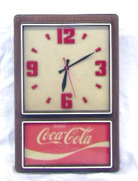 1010: 1970's Coca-Cola Wall Clock