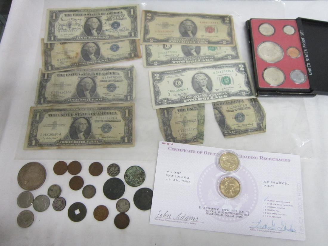 Misc Coins & Paper Money