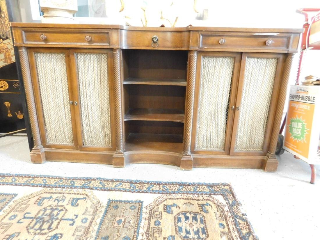 Regency Style Console Cabinet