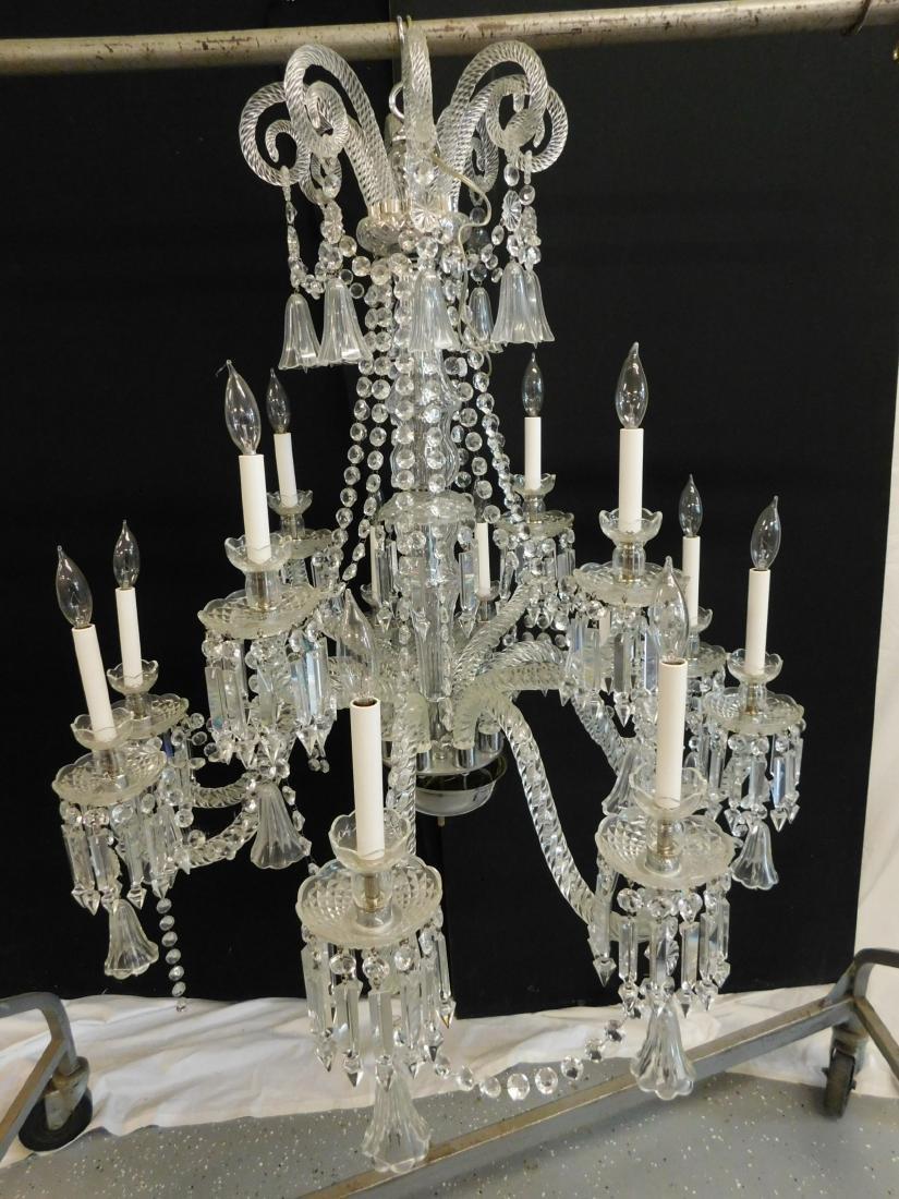 Palatial Crystal Chandelier