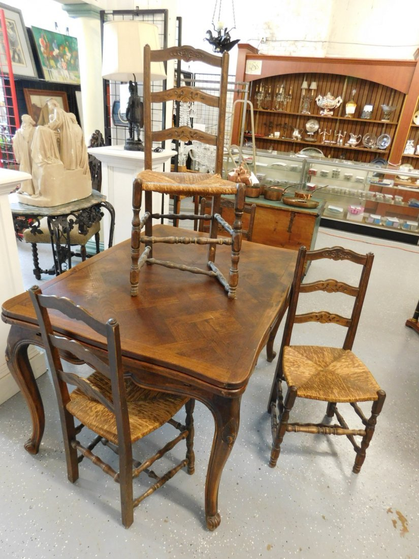 Country French 5 Pc Dining Room Set