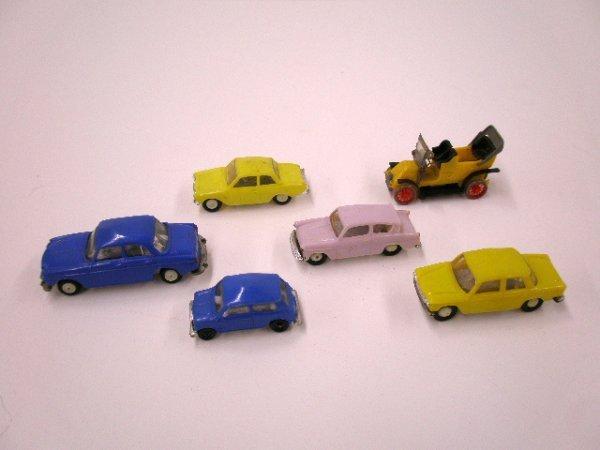 2001: 1960's miniature plastic Mini Cars