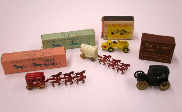 2002: 1960's Linemar, Elvin & Japanese miniatures
