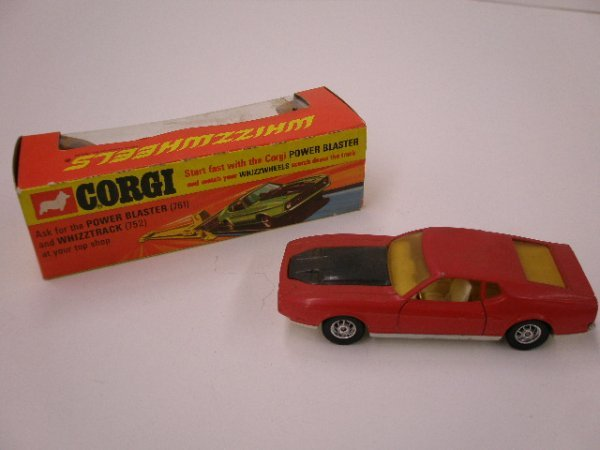 2013: Corgi Whizz Wheels Ford Mustang Mach 1