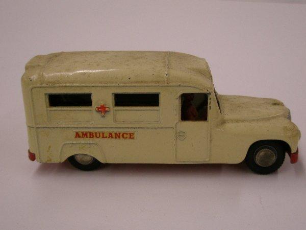 2017: 1960's Budgie Toys Daimler Ambulance