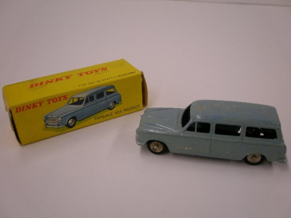 2019: 1960's Dinky Familiale 403 Peugeot