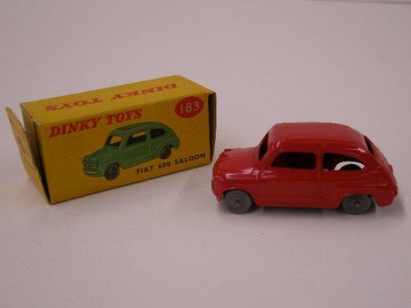 2020: 1960's Dinky Fiat 600 Saloon