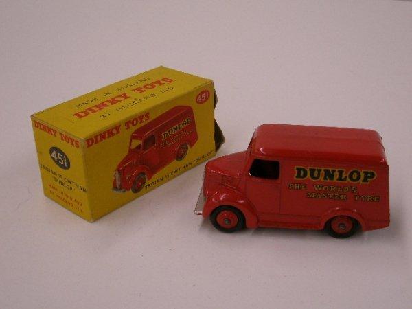 2021: 1960's Dinky Dunlop Trojan Van