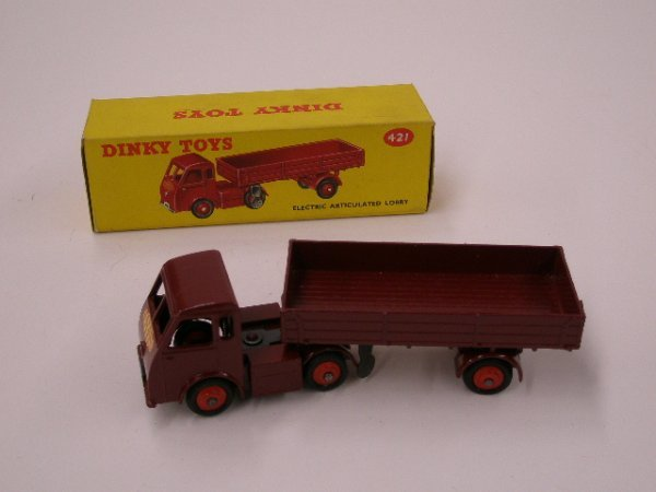 2022: 1960's Dinky Electric Articulated Lorry