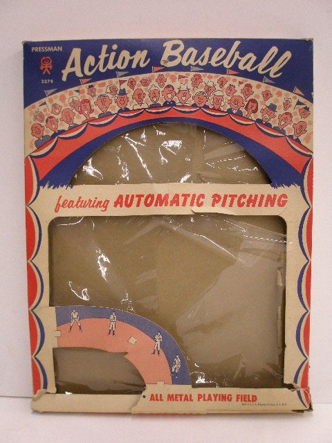 2116: 1960's Action & Dennis The Menace Baseball games - 2