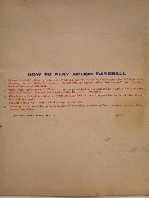 2116: 1960's Action & Dennis The Menace Baseball games - 3