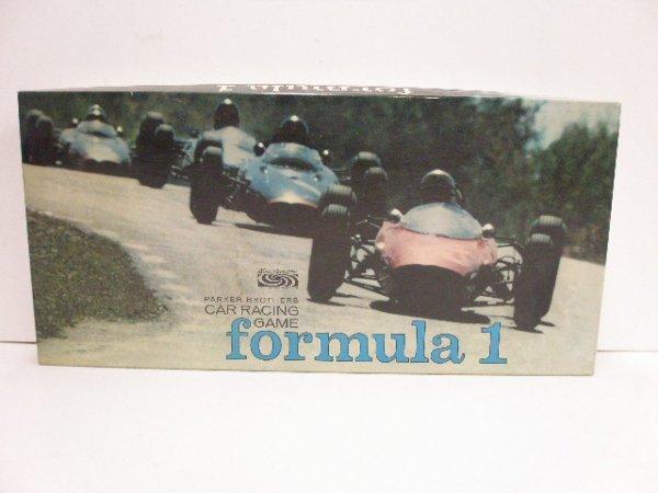 2117: 1968 Parker Brothers Formula 1 board game
