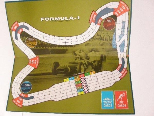 2117: 1968 Parker Brothers Formula 1 board game - 2