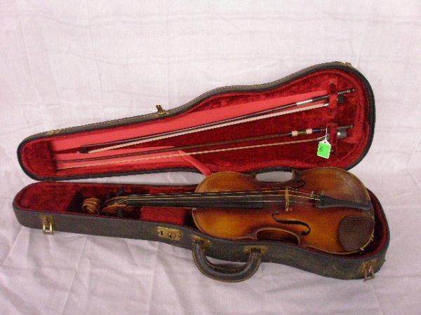 3001: Copy of Zacharias Klotz violin