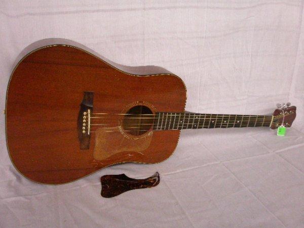 3078: Guild acoustic guitar