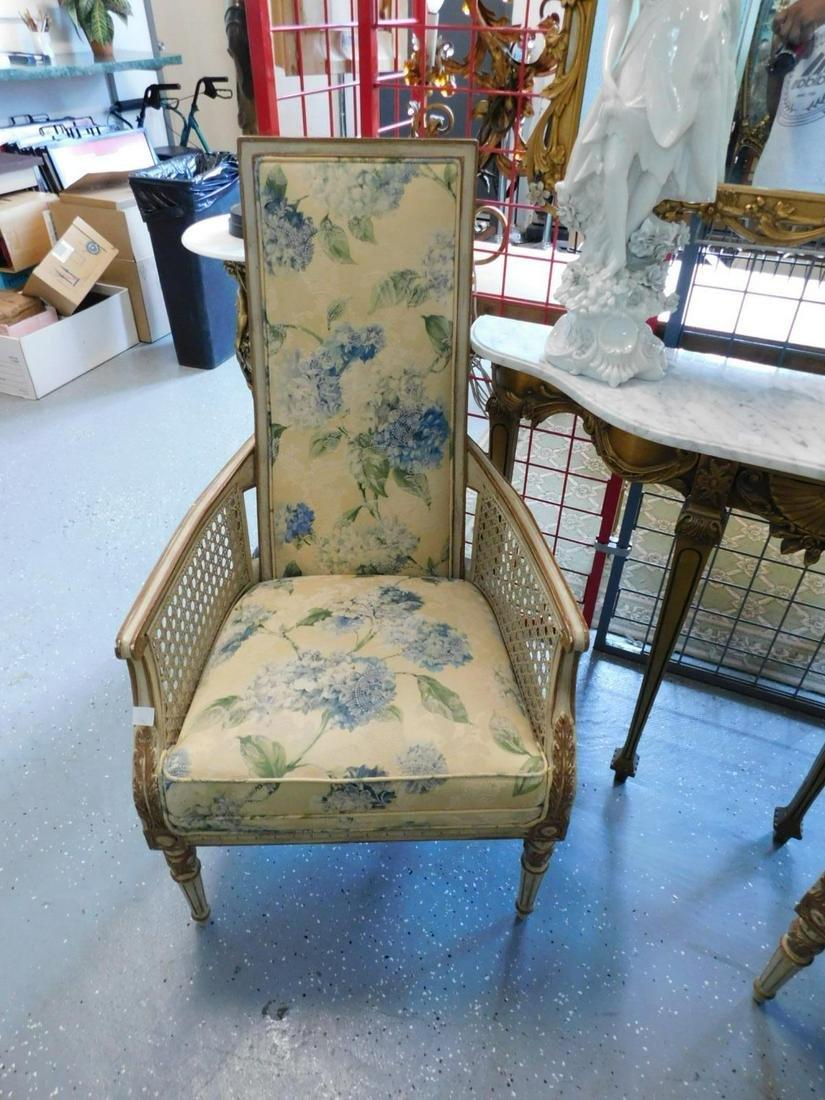 Pair Louis XVI style Arm Chairs
