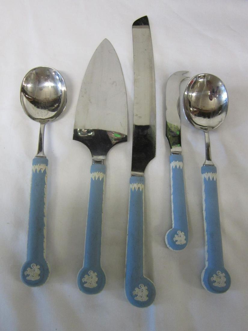 Wedgwood Jasperware Handled Serving Pieces