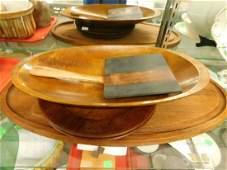 MCM Wood Kitchenware/Serving Lot