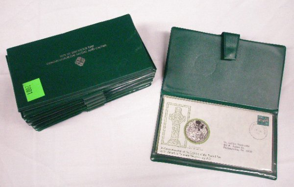 2001: St. Patrick's Day silver medals