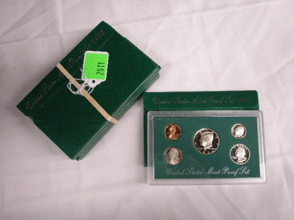 2011: 1994-1998 U.S. Mint Proof sets