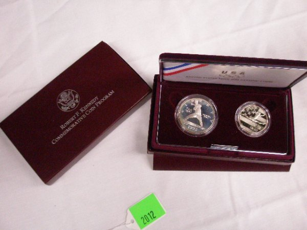 2012: 1992 & 1996 U.S. Mint Commemorative coin sets