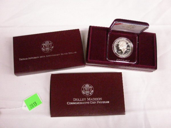 2013: 3 U.S. Mint Commemorative silver dollars