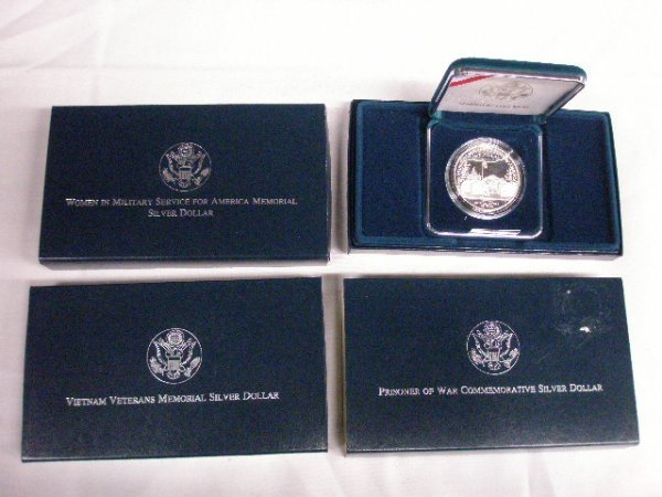 2014: 1994 U.S. Mint Commemorative silver dollars