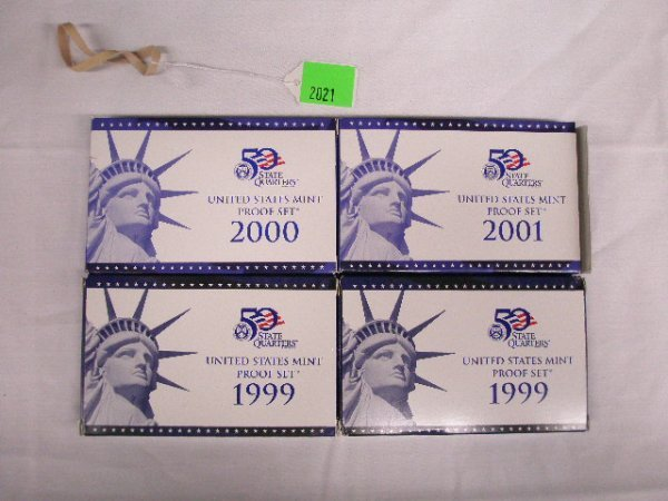 2021: 50 State Quarters U.S. Mint proof sets