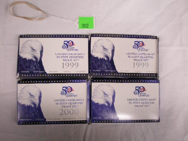 2022: U.S. Mint 50 State Quarters Proof sets