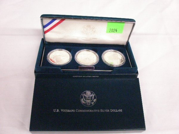 2024: 1994 U.S. Veterans Commemorative silver dollars