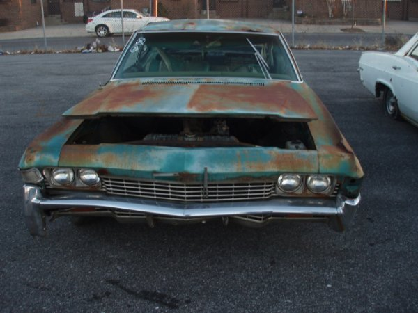 1007: 1968 Chevrolet Bel-Air coupe