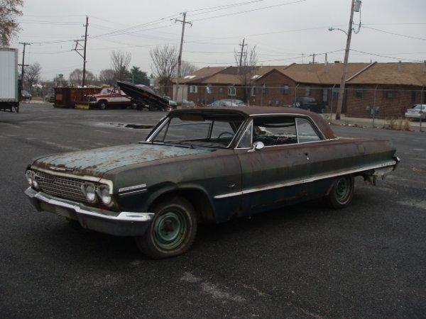 1010: 1963 Chevrolet Impala coupe