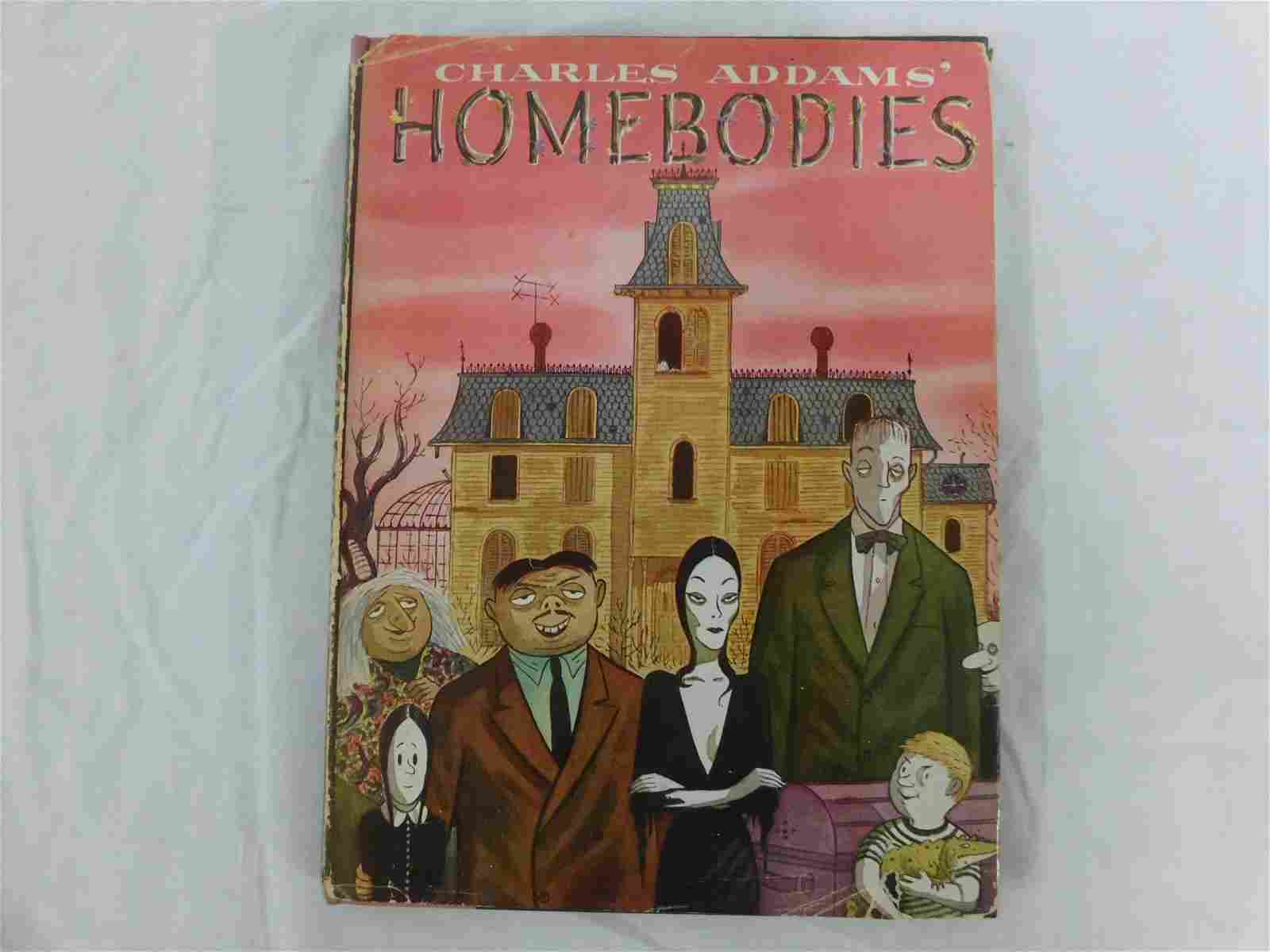 "Charles Addams ""Homebodies"" Book Signed"