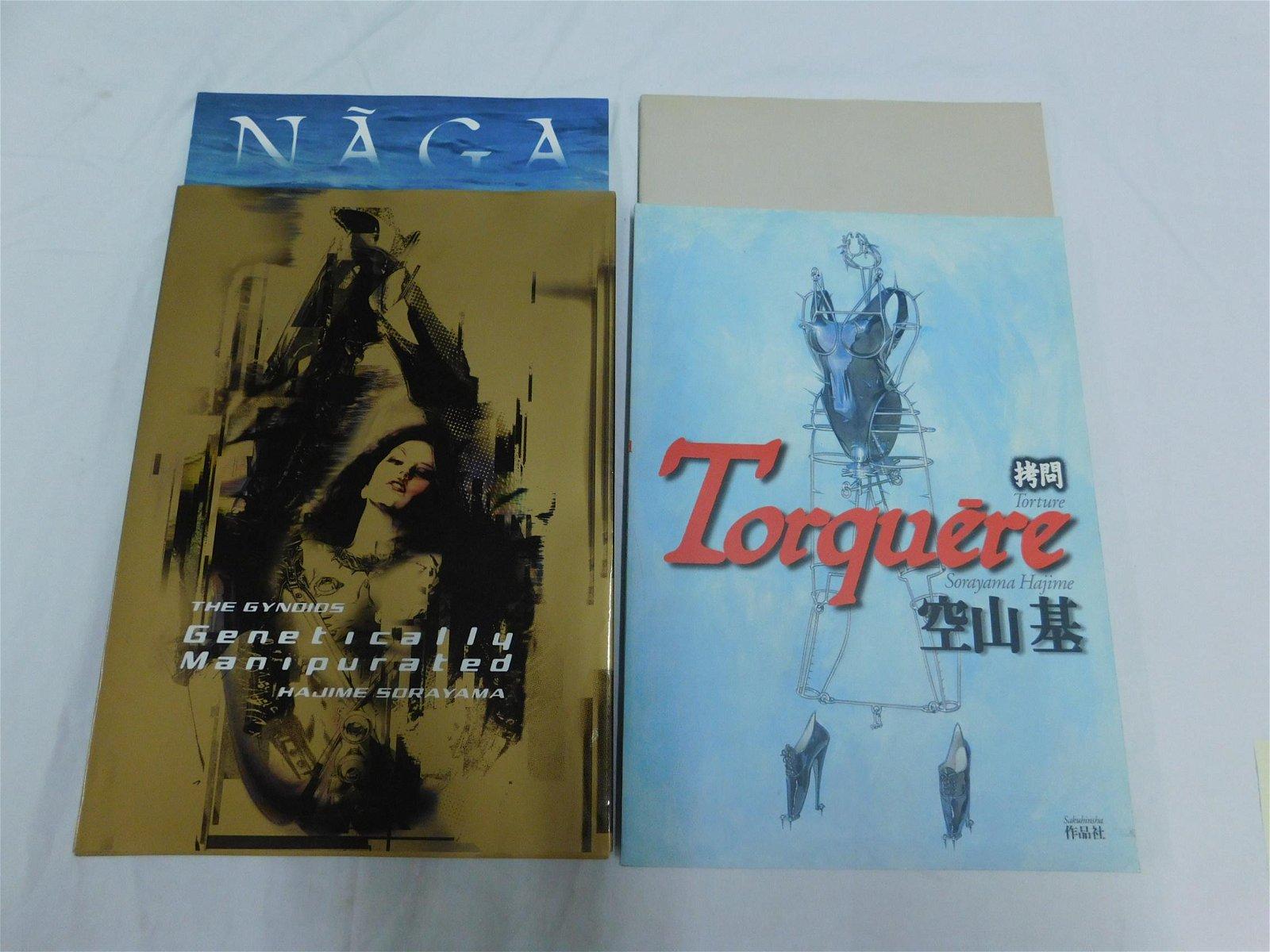 Hajime Sorayama Four Books