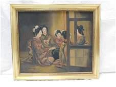 H Takahata oc Group of Geishas