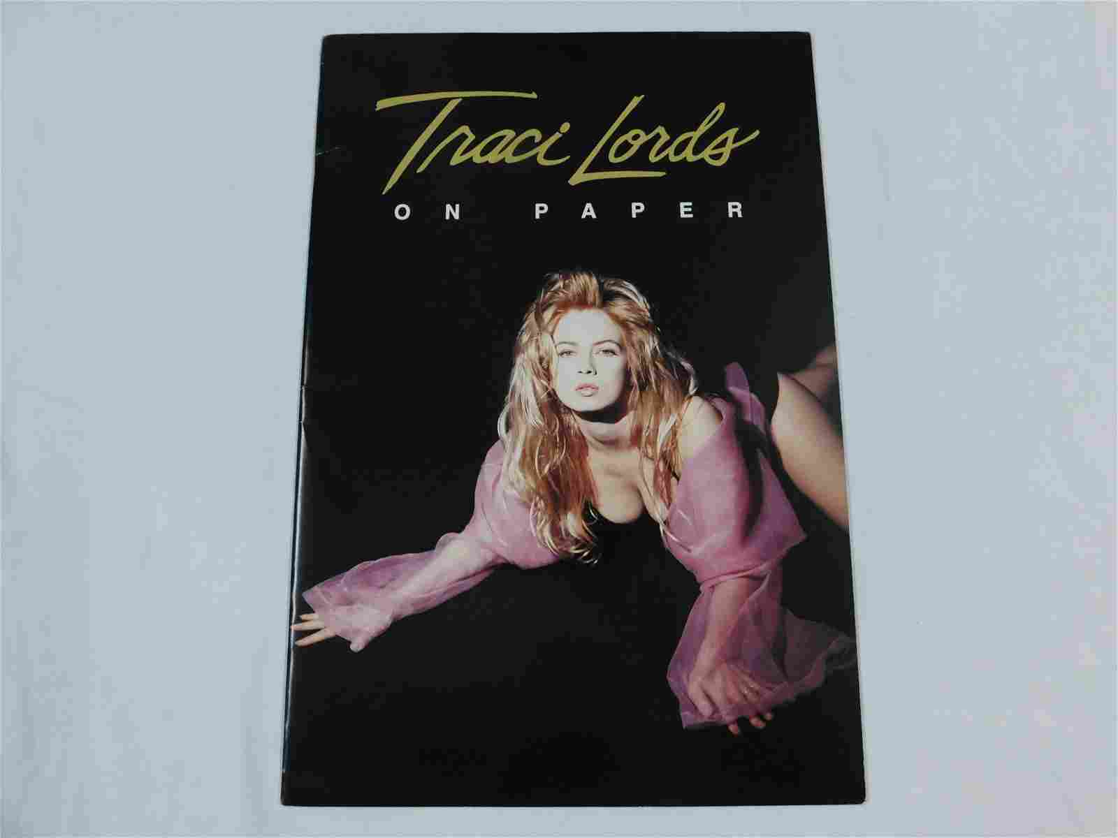 Traci Lords on Paper